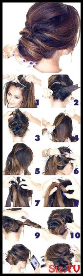 Best Hairstyles for Brides 5 Minute Elegant Chi #Amazing #Awesome #Braided #Bridal #Brides