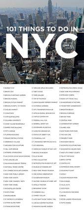 Ultimate New York City Bucket List (101 Dinge, die…