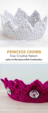 Princess Crown Free Crochet Pattern – Häkeln crochet