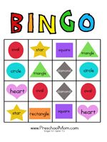 I have Who Has Shapes and Colors   Free printables, Shapes and Gaming
