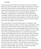 This is a brilliant explanation of Harry's character; because I know people … – Harry potter