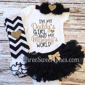 Baby #Mädchen #Kleidung # | Ich bin mein Papa.    – Clothes