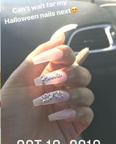 Acrylic Nails Shapes Mother These fall nail tendencies are excellent for the colder weath…