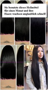 She used this remedy for a month and her hair grew incredibly fast!   njuskam!