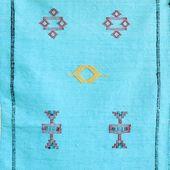 "Kilim Area Rug, Silk – Small, 2'10"" x 1'8"""