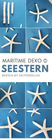 DIY Starfish en porcelaine froide: décoration des étoiles de mer des Maritimes