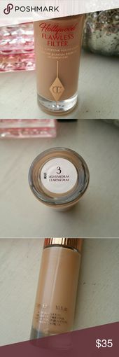 Charlotte Tilbury Flawless Filter Barely used Hollywood flawless filter pimer/co…