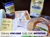 Purchase Low Carb Meals On-line at Netrition