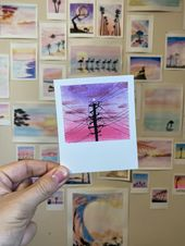 CROSSED WIRES Paintbrush Polaroid Print | Etsy