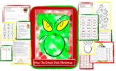 """""""How The Grinch Stole Christmas"""" Lesson Plan  – K-3 Literacy"""