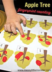 Apple Tree Fingerprint Counting Activity