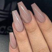 60+ of the most popular nude nail style ideas in 2019