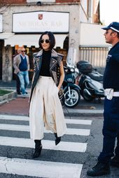 Street style: the best looks spotted on the streets during Milan Fashion Week