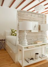 Interior design in white
