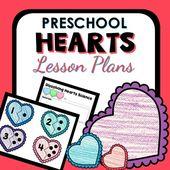 Heart Theme Preschool Lesson Plans