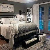 25+ Modern Rustic Master Bedroom Decor and Design …