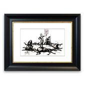 East Urban Home Framed Graphic Print Custer's Last Rearing Up Wayfair.de