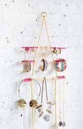 Super einfache DIYs, um Ihren Schmuck zu organisieren