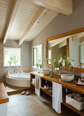 Wie erstelle ich ein Zen-Badezimmer?