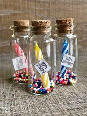 Invitations  Geburtstag in einer kleinen Flasche! Geschenk oder Einladung Benutzerdefinierte,...
