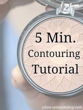 5 Minuten Contouring Tutorial   – Beauty Tipps und Tricks