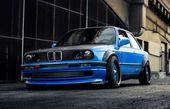 Kotflügelverbreiterung für BMW E30 Kotflügel – Kotflügelverbreiterung …   – Car