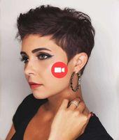 Meilleures idées de coiffure Pixie Cut pour les femmes 2019   – Idées de Coupes de Cheveux