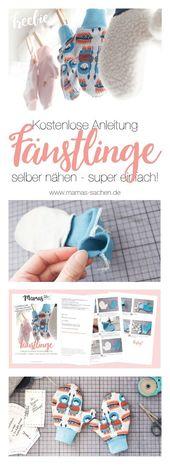 Anleitung für Kinder-Handschuhe – einfach selber maßschneidern