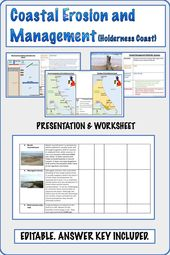 Coastal Erosion And Management Holderness Teaching Geography Erosion Coastal