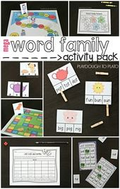 Word Family Activity Pack – Teach
