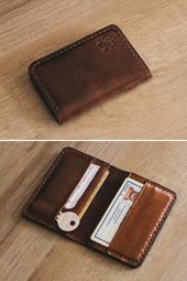 Business card case, Mens leather wallet, Credit card holder, Minimalist wallet, Wallets for men, Leather wallet, Slim wallet, Men wallet