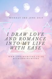 MONDAY 3RD JUNE 2019 | AFFIRMATION