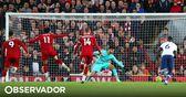 Gazzaniga fez esquecer um campeão do mundo e merecia mais mas o Liverpool não deixou