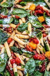 Der ultimative vegane Nudelsalat