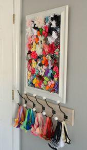 DIY Haarschleifenhalter (plus wo man niedliche Haarbänder günstig findet!)   – Girly Girl Bedroom
