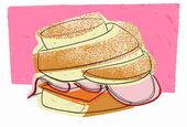 In 80 Sandwiches um die Welt   – Sandwiches