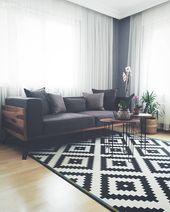 Renkli bir ortamdan, sade ve doğal dekora.. Leyla hanımın evinin yeni tasarımı.