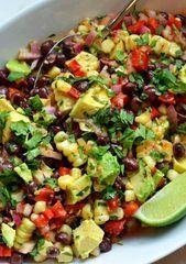 Black Bean & Corn Salad with Chipotle-Honey Vinaigrette – Recipes-Yummy
