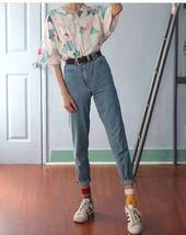 10 verschiedene Arten, Mom Jeans zu stylen