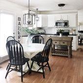 Photo of Stunning Small Island Kitchen Table Ideas
