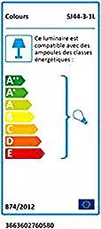 Ventilateur De Plafond Colours Shek Telecommande Chrome 1 X E27 O112 Cm Metal Floor Lamps Tripod Floor Lamps Black Metal Floor Lamp