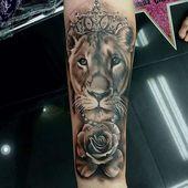 ▷ 1001 + coole Löwen Tattoo Ideen zur Inspiration – Tattoos