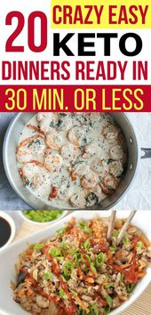 Cannot imagine how EASY these wholesome keto dinners are for my low carb weight loss plan! Quic…
