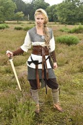 Our fantasy version of a Viking shieldmaiden: Clot…