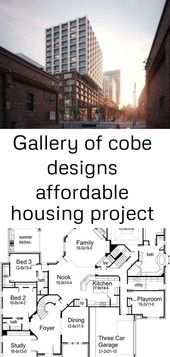 Gallery Of Cobe Designs Affordable Housing Project For Downtown Toronto 1 House Plan In 2020 Barndominium Floor Plans Affordable Housing Metal Buildings