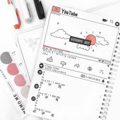 25 technology and social media bullet journal spread layout ideas – pinanimals