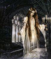 Geister – Frau auf Gang Victoria Frances – #frances #geister #victoria – #DepriZeichnungen