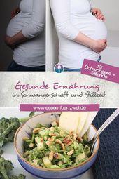 Essen für Zwei – Gesunde Ernährung in Schwangerschaft und Stillzeit