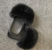 Comfort Fluffy Fox Fur Slippers