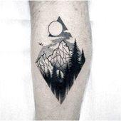 geometrisches Tattoo #TattooInspiration Hier klicken, um mehr zu sehen.